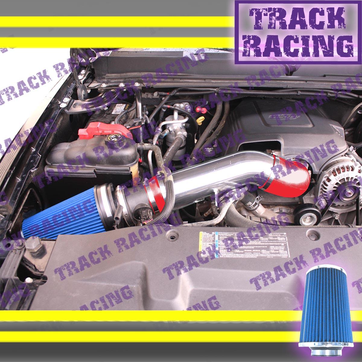 "4/"" BLUE Cold Air Intake Kit for 99-06 Chevy Silverado//GMC Sierra 1500 2500 3500"